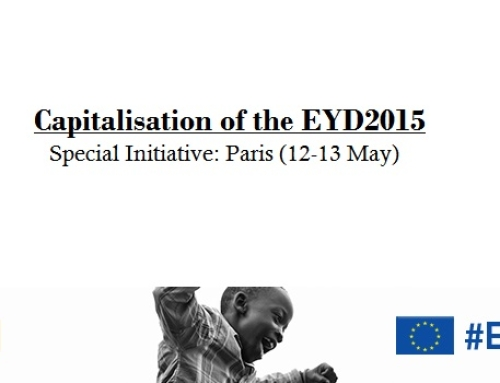 Special Initiative: Capitalisation of the European Year for Development