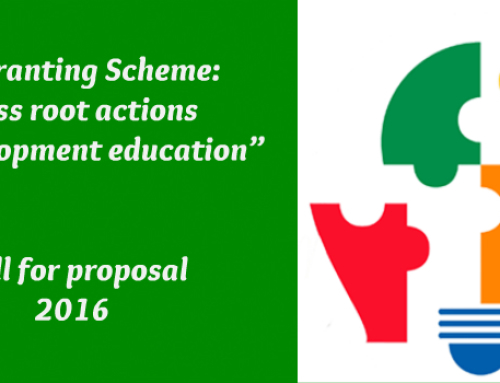"""""""Regranting Scheme: grass root actions on development education"""""""