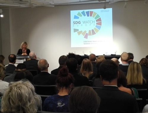 SDG Watch Europe: launch of the new alliance
