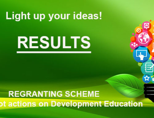 Regranting Scheme: Grass root actions on development education – THE RESULTS OF THE 2017 CALL
