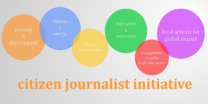 Global education and citizen journalists interview with paola view larger image ccuart Image collections